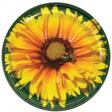 Капачка за буркан - цвете