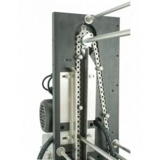 Механична разпечатваща машина с ръчно подаване на рамките
