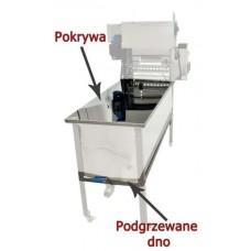 Маса за разпечатване с отопляемo дъно и капак