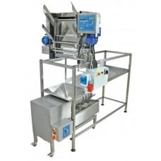 Разпечатваща машина с автоматично подаване на рамките , 400 V и с преса за восък 100 кг/ч
